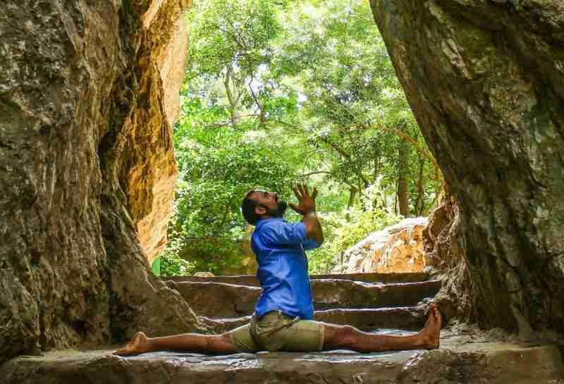 Man Yoga Nature