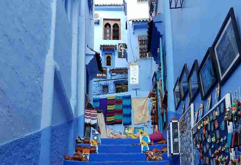 Morocco stairs